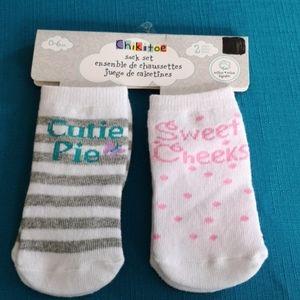 Girl sock set